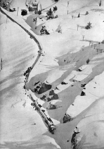 Winter 1952-Big Snow Stops Train