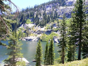 Angora Lakes - Lake Tahoe Hiking Trails