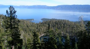 Maggie's Peak View of Emerald Bay - Bayview Trail Lake Tahoe Hiking Trails