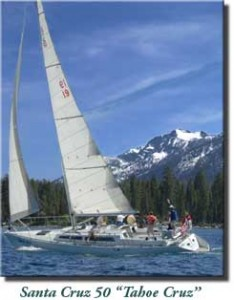 Lake Tahoe Sailing Charters - Tahoe Cruz