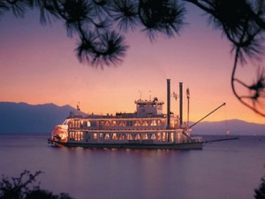 Zephyr Cove Lake Tahoe Paddlewheel Boat Cruises - Tahoe Queen