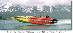 Lake Tahoe Speedboat Cruise - Tahoe Thunder Action Watersports