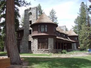 Ehrman Mansion in Sugar Pine Point State Park Tahoma - Lake Tahoe Hiking Trails