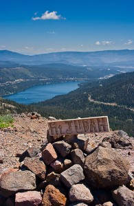 Summit View Donner Lake Mt. Judah Loop - Trail Lake Tahoe Hiking Trails