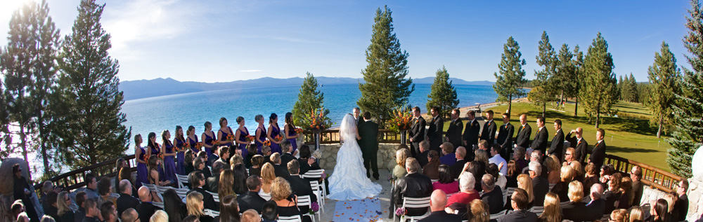 Edgewood Golf Course Lake Tahoe Wedding Venues