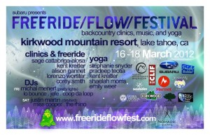 Free Ride/Flow/Festival at Kirkwood