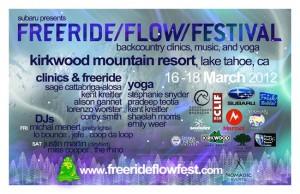 Free Ride/Flow/Festival at Kirkwood