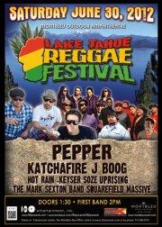 Outdoor Reggae Festival at Mont Bleu