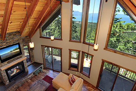 lake tahoe rental - lake view