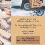 Tahoe Cabin Firewood-Delivered!