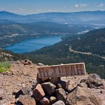 Summit Donner Lake View Mt. Judah Loop Lake Tahoe Hiking Trails